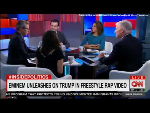 Panel Discuss Eminem Unleashes on Trump in freestyle Rap Video. #Eminem #DonaldTrump #InsidePolitics