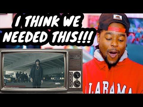 Eminem DESTROYS Donald Trump In BET Cypher | REACTION!!!