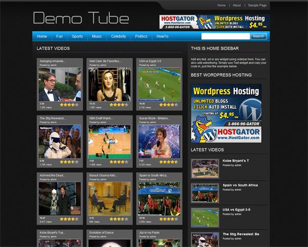 Free WP Tube 4.0